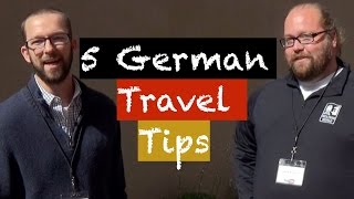 5 German Travel Tips from Wolters World - Collaboration Video