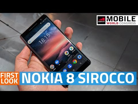 Nokia 8 Sirocco First Look | Camera, Specs, Features, and More #MWC18