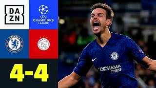 Wahnsinnsmatch an der Stamford Bridge: Chelsea - Ajax 4:4 | UEFA Champions League | DAZN Highlights
