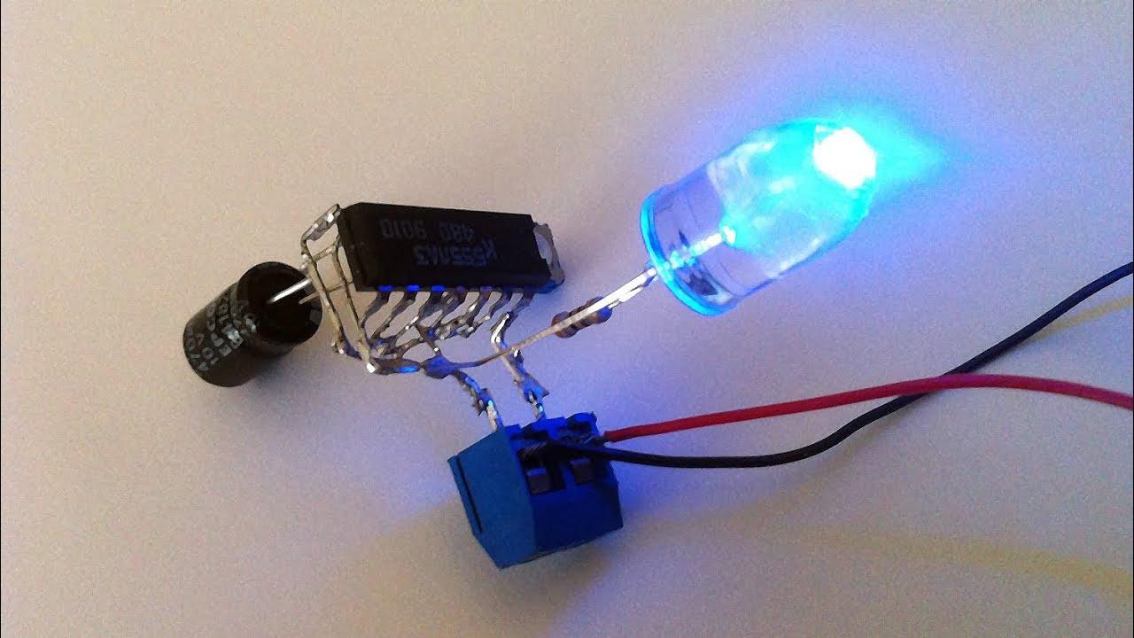 Как сделать из светодиодов для авто