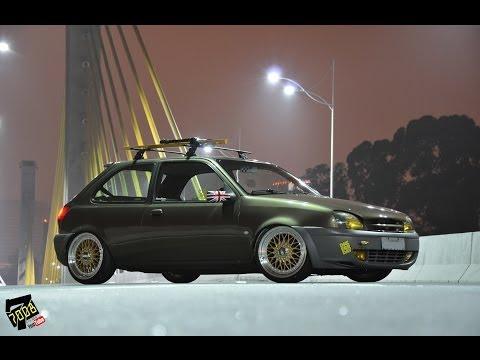 Gringa Style - Ford Fiesta + BBS Aro 17 Suspensão Fixa - Canal 7008Films