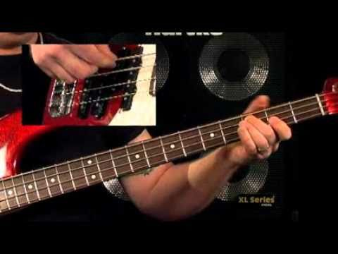Bass Guitar Lessons - Fretboard Fitness - #6 Open Note Major Arpeggios - Stu Hamm video