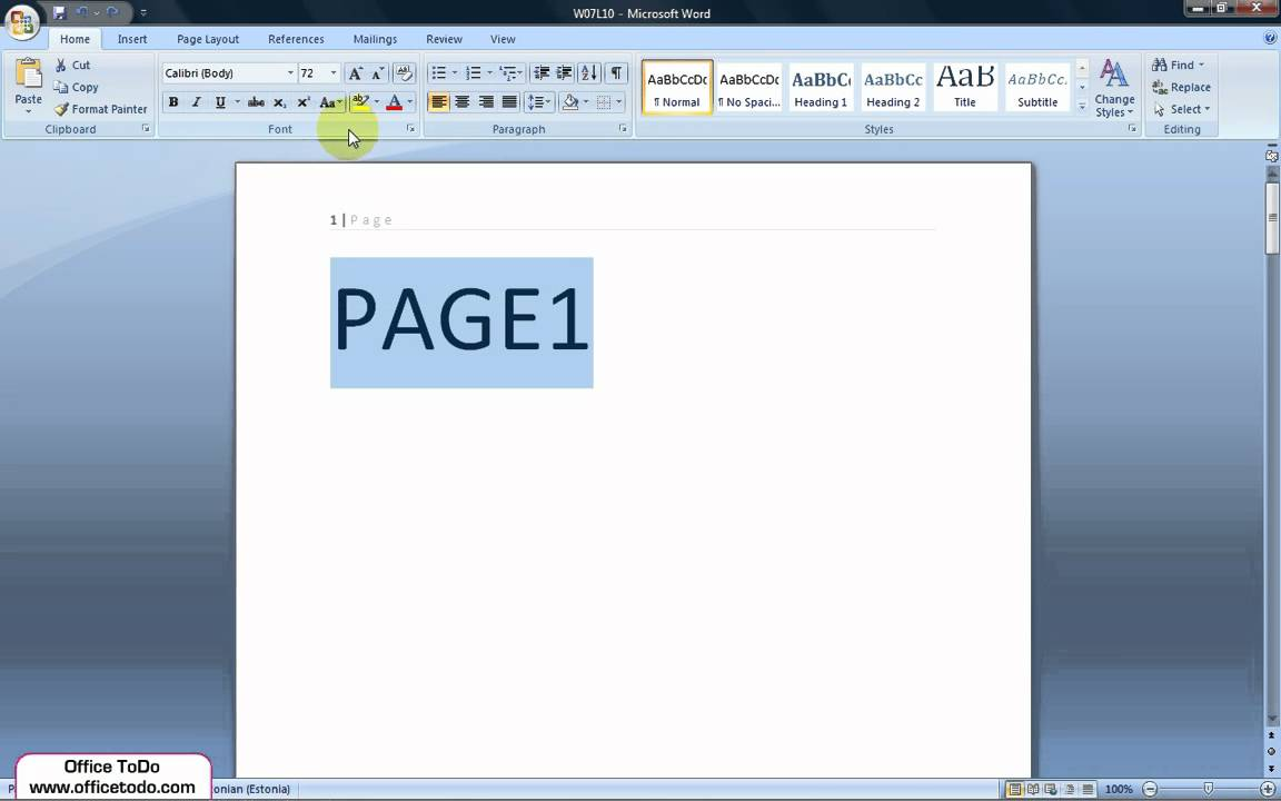 how to delete all formatting in word