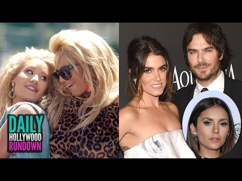 Britney Spears & Iggy Azalea Pretty Girls Video - Nina Dobrev Talks Ian & Nikki's Wedding (DHR)