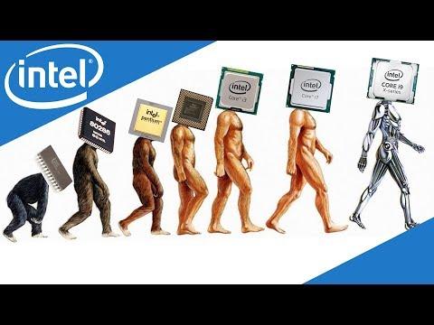 Evolution of Intel Processors ( 1971-2017 )