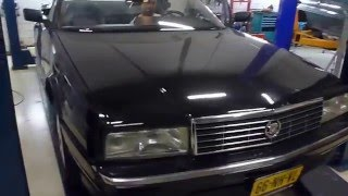 1992 Cadillac Allante test drive after multiple repaires.