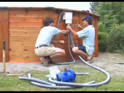 Instalaci n de una piscina gre de madera disponible en - Instalacion de una piscina ...
