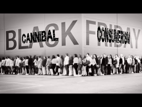 Mark Dice and Black Friday Cannibal Consumerism