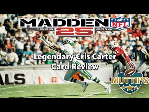 MUT Tips - Cris Carter Card Review   Madden 25 Ultimate Team Card Reviews