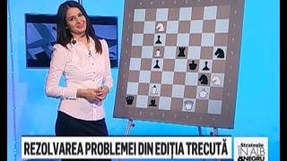 "Editia 73 - Emisiunea de sah ""Strategie in alb si negru"" - cu Delia Duca si Amedeo Ene"