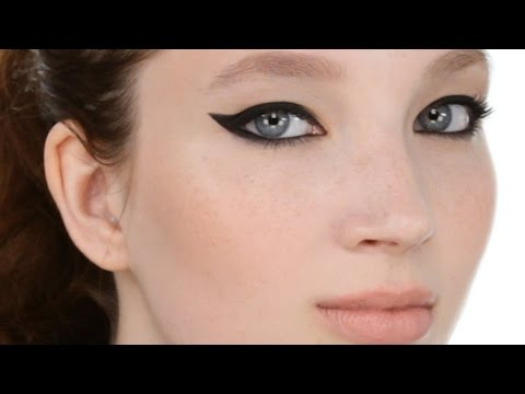 Bold Winged Eyeliner Look (also great for hooded eyeshapes)