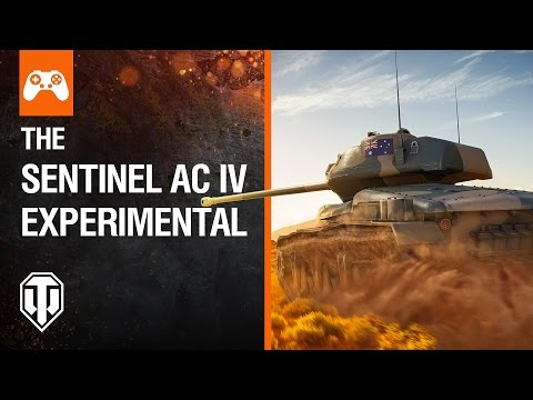 Sentinel AC IV Experimental - World of Tanks Console