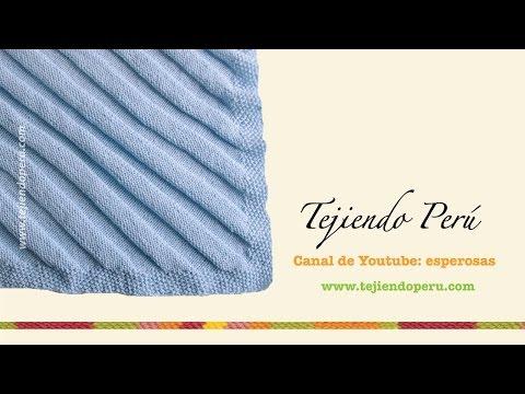 480 x 360 jpeg 37kB, Dos agujas: cóm tejer una manta o colchita para ...