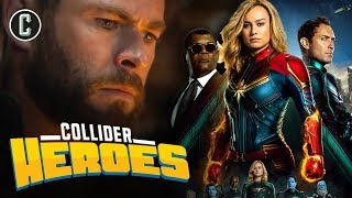 Avengers: Endgame Still 3 Hours Say the Russos; Captain Marvel Set Visit with Perri - Heroes