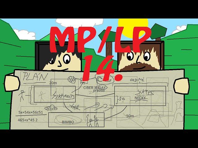 Minecraft - MP/LP... Díl 14. Sikfred neumí stříhat a Fraps ho nenávidí!