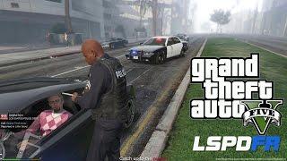 GTA 5 - LSPDFR - EPiSODE 3 - LET'S BE COPS - SLICKTOP PATROL (GTA 5 PC POLICE MODS)