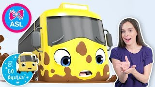 Stuck In The Mud | ASL - American Sign Language | Baby Songs | Little Baby Bum