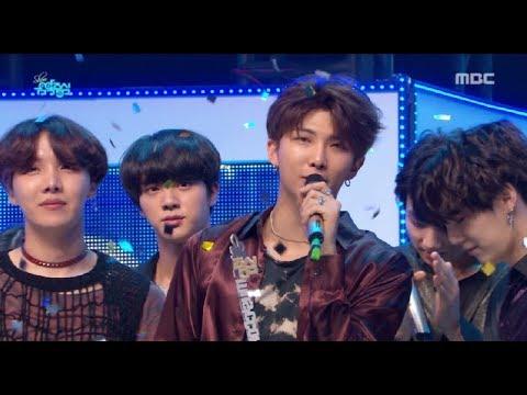 [HOT] 6월 2주차 1위 '방탄소년단 - FAKE LOVE  (BTS  - FAKE LOVE)' Show Music core 20180609