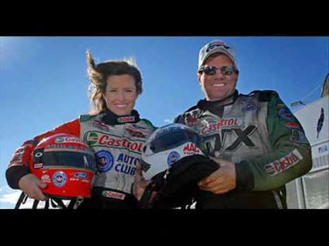 Ashley Force and Erica Enders Video