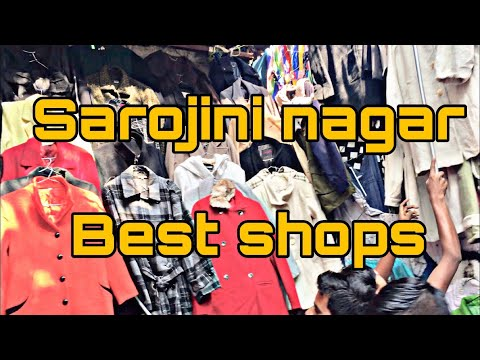 SAROJINI NAGAR | BEST SHOPS | LATEST WINTER COLLECTION |