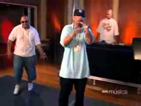 Daddy yankee en AOL - FreeStyle - Improvisación