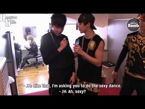 [ENG] 131212 [BANGTAN BOMB] Jimin's sexy dance One-point lesson