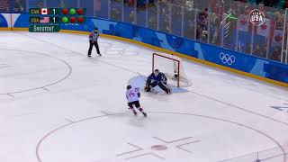 USA Women's Hockey Gold Medal Shoot Out Pyeongchang 2018