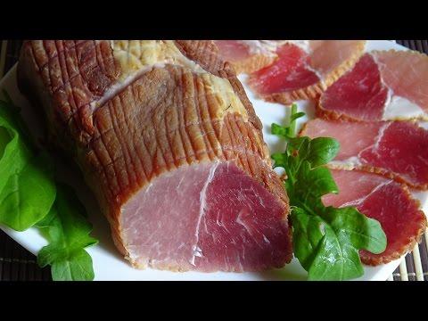 Как сделать корейку сырокопчёную. Правильно коптим мясо.