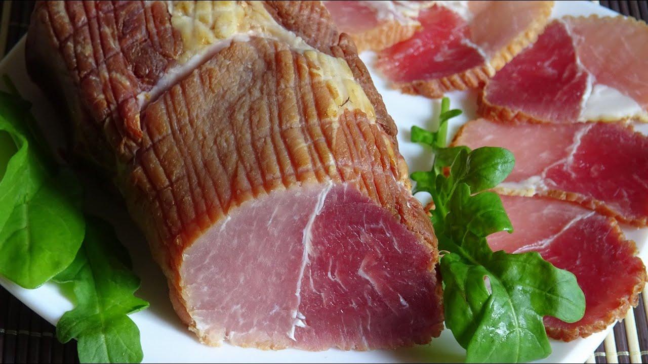 Свинина холодного копчения в домашних условиях рецепты