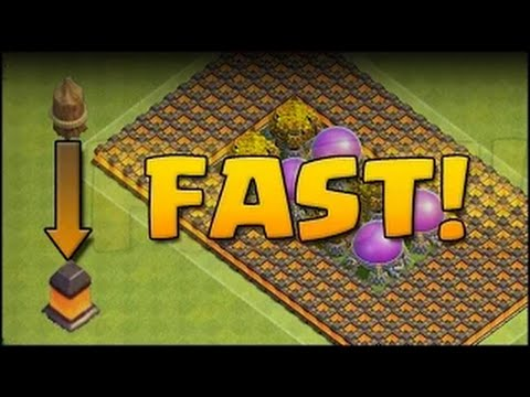 Clash of Clans - How to Upgrade Walls Fast & Easy (Best Strategy)
