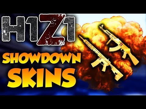 FREE SHOWDOWN AR15! New 2018 GOLD Showdown AK47 and AR15 Skins! H1Z1 New Skin!