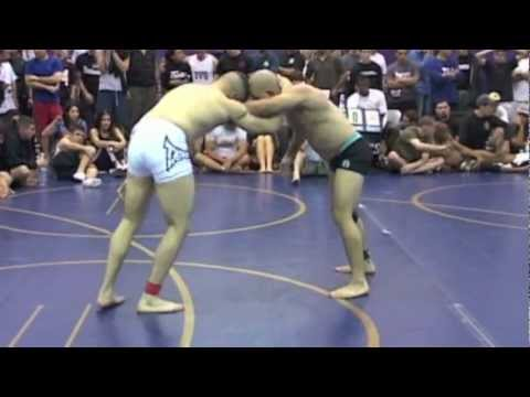 Kimura Submission - Diego Sanchez vs. Ricardo Teixeira at 2005 Grapplers Quest Vegas Championships Image 1