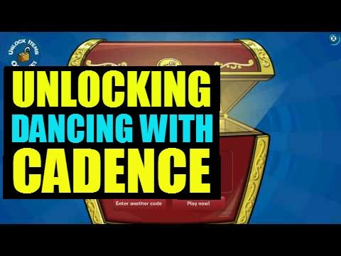 Club Penguin - Book Codes - Dancing With Cadence
