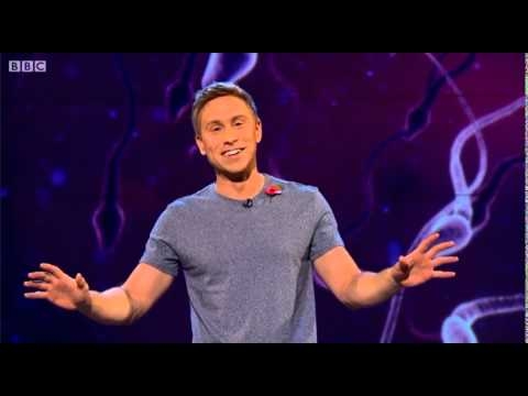 Russell Howard's Good News show on National Sperm Bank