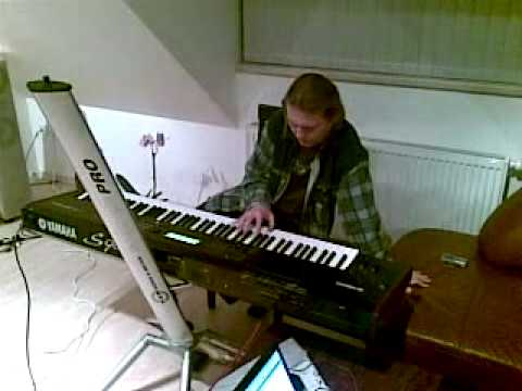 Mobil shot - czech black metal band Asgard - keyboard recording