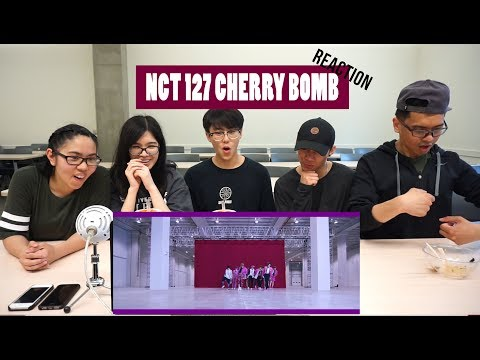 Cover Lagu [APRICITY] NCT 127 - Cherry Bomb MV Reaction Video
