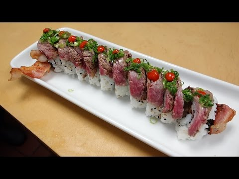 Meat Lover's Roll - How To Make Sushi Series