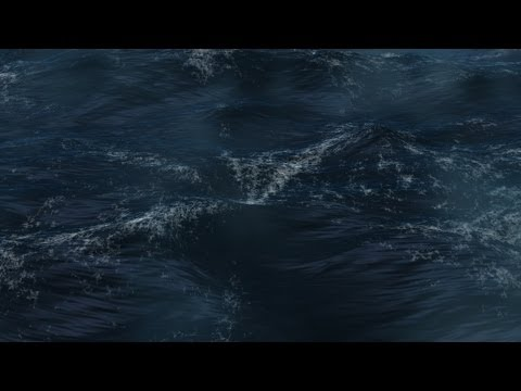 Maya tutorial : How to create a realistic ocean and animate it