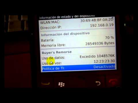 Identificar y Eliminar Politicas TI de Blackberry 100% garantizado