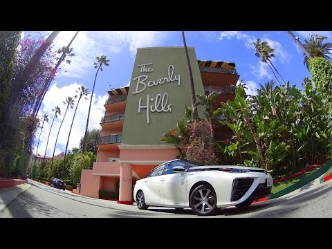 Toyota Mirai first drive review - amazing hydrogen fuel cell car