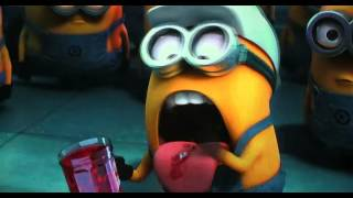 Minion eats jelly