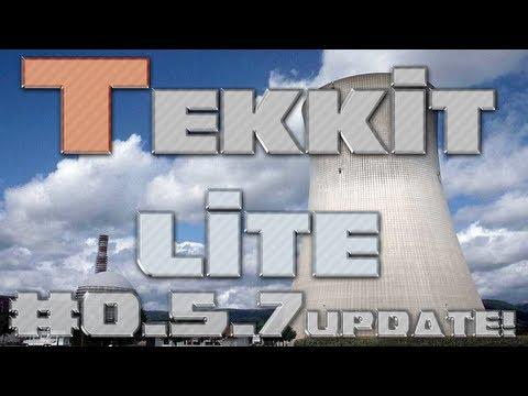 Tekkit Lite 0.5.7 Whats New! - Update Spotlight - Powersuits and Tesseracts [SEASON 1]