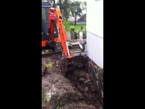 Hyra grävmaskin med förare