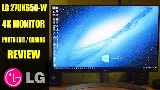 LG 27 inch Gaming LED Monitor - 4K Ultra HD, IPS Panel  - 27UK650