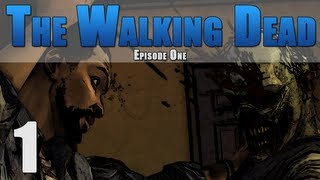 The Walking Dead Episode 1 - A New Day {PART 1} Gameplay Walkthrough