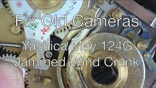 Fix Old Cameras: Yashica Mat 124G Wind Crank