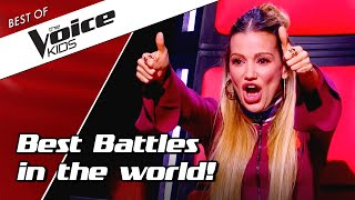 TOP 10 | BEST BATTLES in The Voice Kids ever