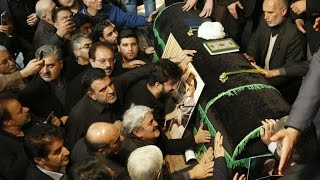 Iran: Hundreds of thousands mourners attend funeral of former leader Rafsanjani