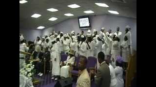 "FUTIM Choir singing,""Lord You Are Welcome In This Place"""