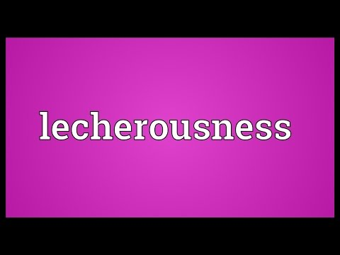 Header of lecherousness